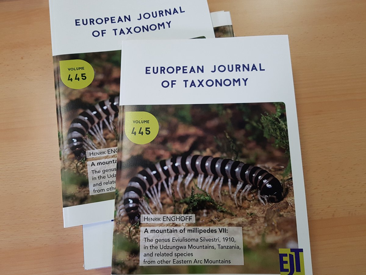 Special Edition of the European Journal of Taxonomy including the descriptions of the two species named after the journal itself and CETAF