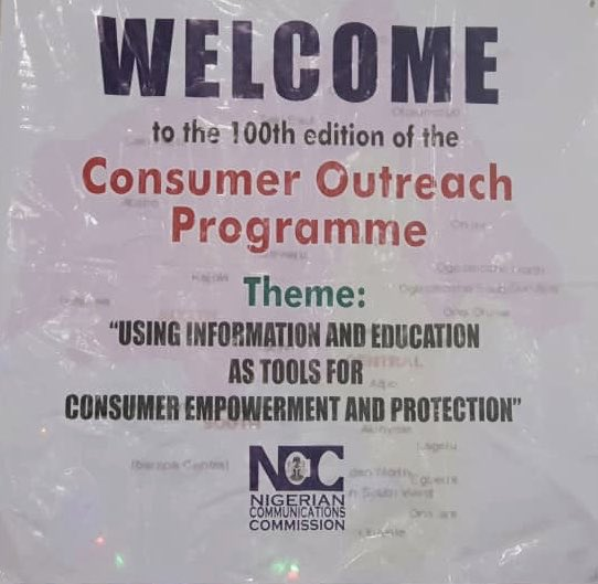 test Twitter Media - The 100th Edition of the NCC's Consumer Outreach Programme is ongoing at the Sejeet civil center, along Osogbo road, Oke Owode, Ogbomosho, Oyo State. Be there, ask your questions, lay your complaints and be informed. https://t.co/fUtFt88O9G