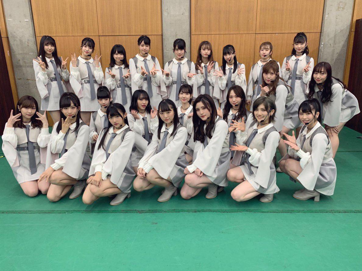ダンスオーディションの結果は、STUみちゅ、みゆみゆ、チーム8からひじりちゃん!お疲れ様でした!!!ドキドキしたー!#ベストヒット歌謡祭
