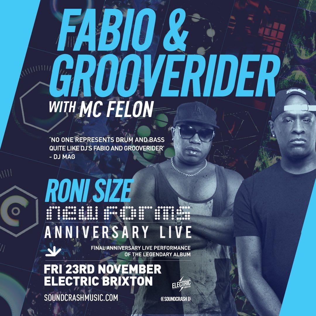 23 Nov @ronisizebristol @electricbrixton tickets 👉🏿 buff.ly/2RfZFYS