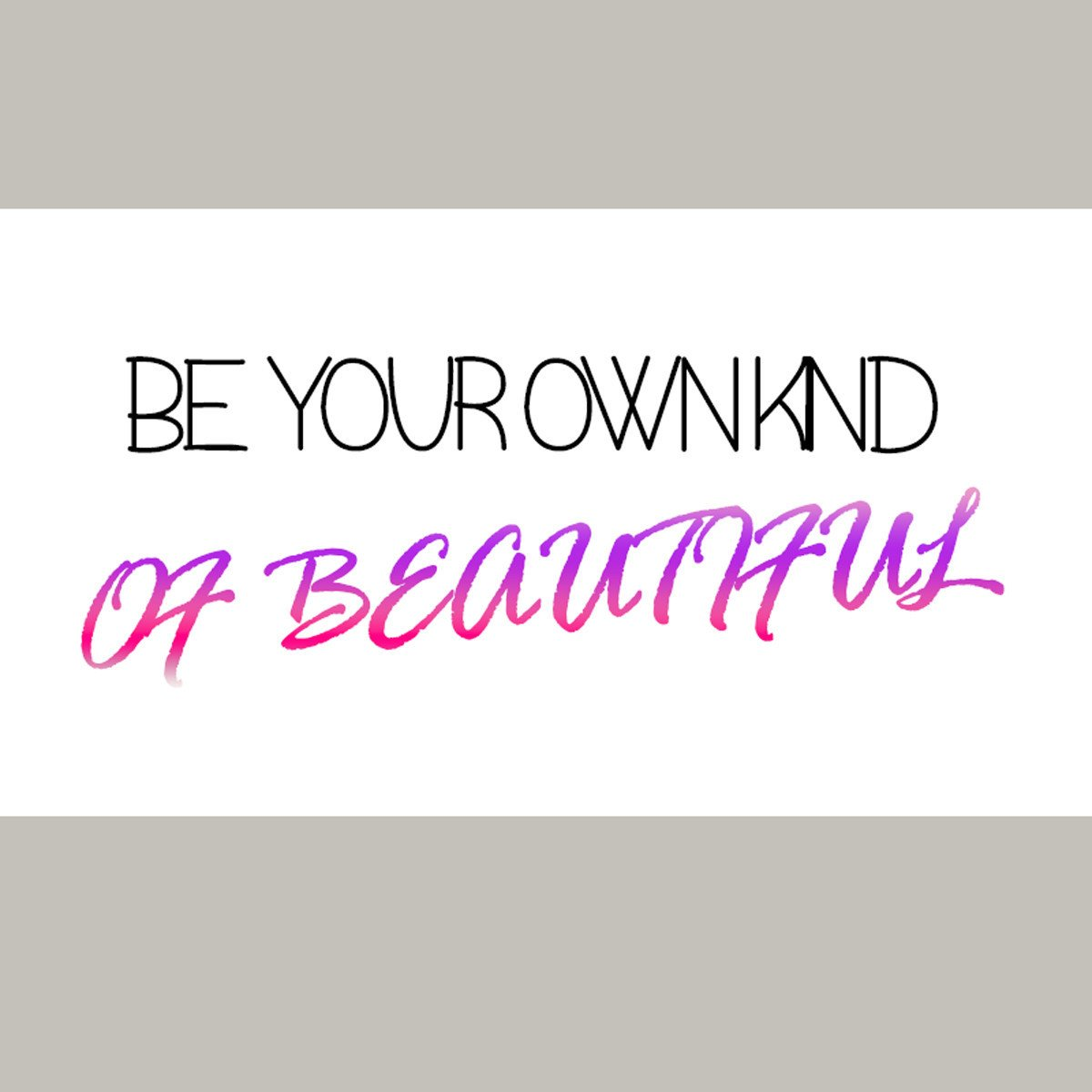 Do you feel like you don&#39;t match typical beauty standards? Redefine what beauty is!   #Beautiful #StayUnique <br>http://pic.twitter.com/SQcj3sQiCq
