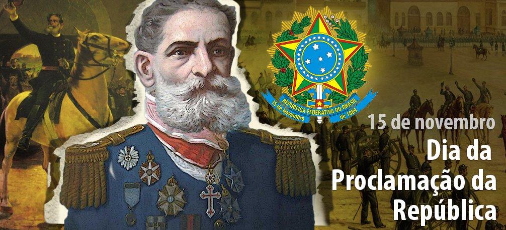 15 de novembro - Dia da Proclamação da República https://t.co/bt0sHDNBDY