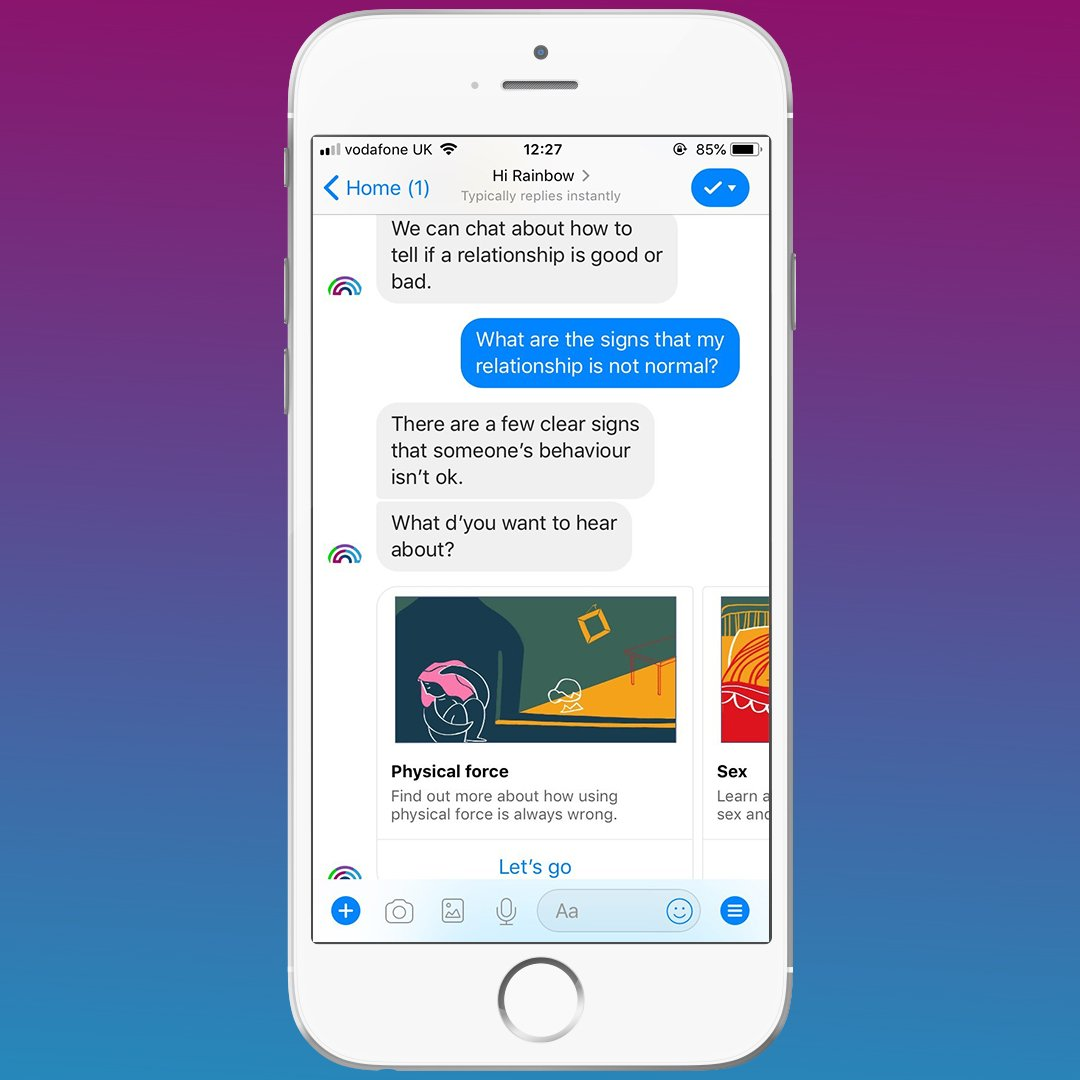 Image result for You Are Having a Relationship With a Chatbot! twitter