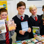 Thanks very much to https://t.co/rRaSbK36nx for the fantastic selection of books for our boys to choose from at the annual book fair #goodreads #booklovers #books @MumsnetTowers @SevenoaksMums