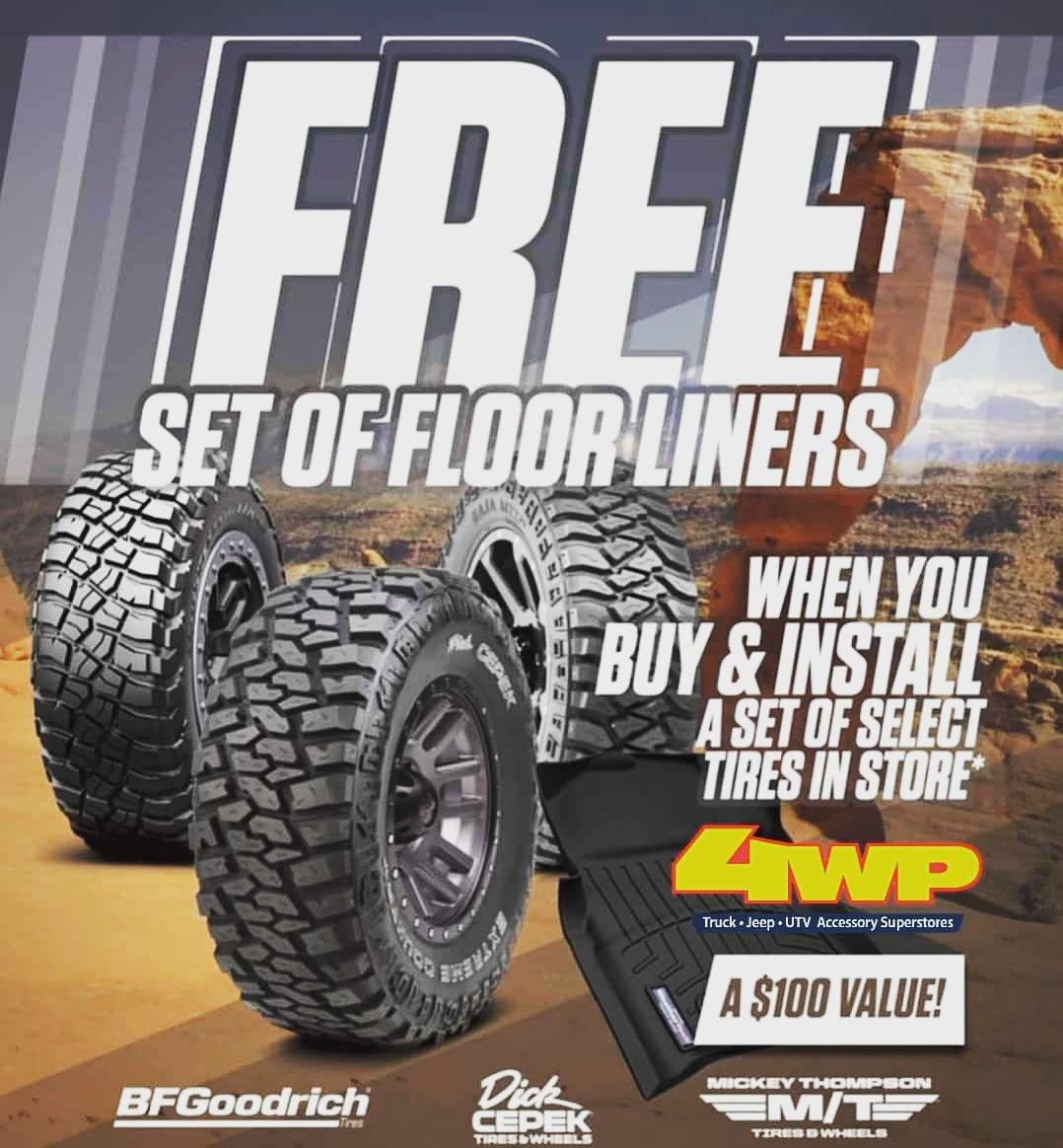 Tires Best Wheels And Tires For Jeeps Trucks 4wp 4 Wheel Parts >> 4 Wheel Parts 4wpsanantonio Twitter