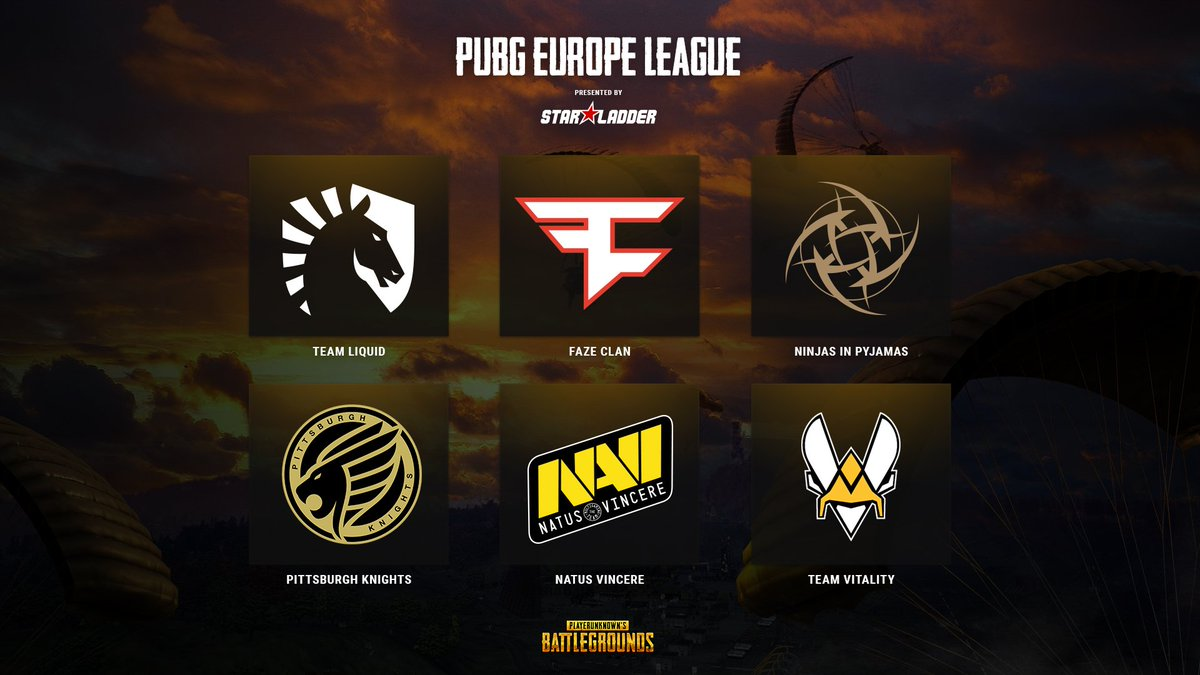 pubg europe league week 2