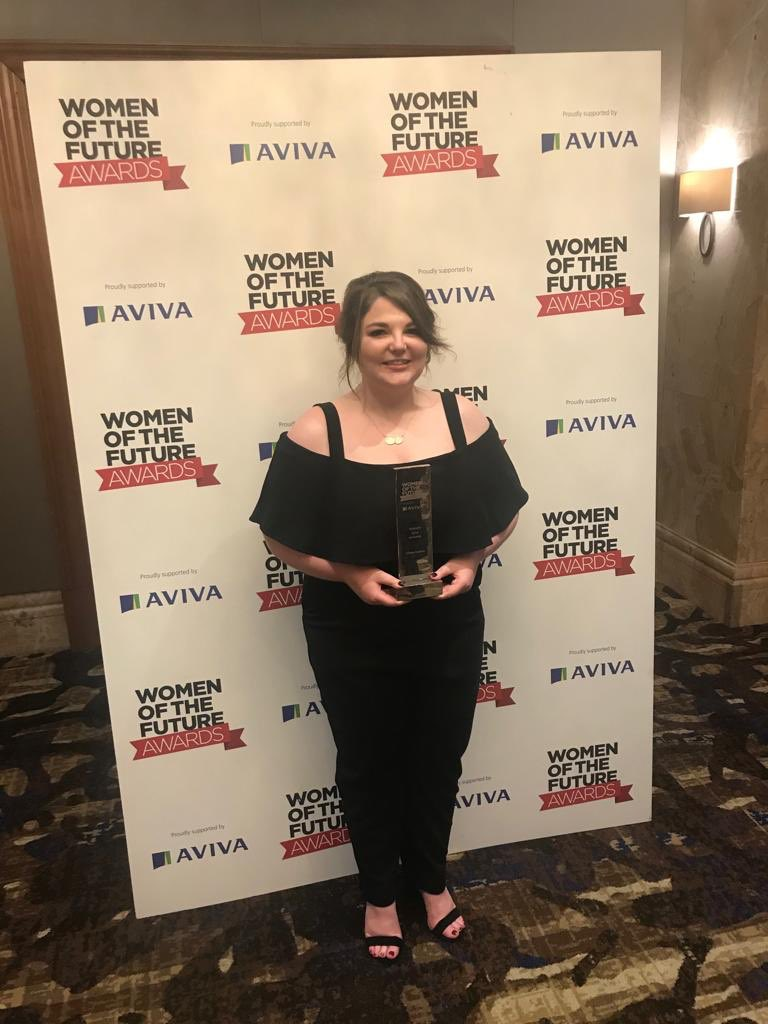 I did it!!!  I am so unbelievably proud and honoured to be recognised among so many successful women  Massive thank you to Oli for the nomination, Hannah for the application &amp; everyone who has helped in my journey so far  @womenoffuture #WOF2018 #EracScotland #TheDreamTeam<br>http://pic.twitter.com/sjgGBI1uwa