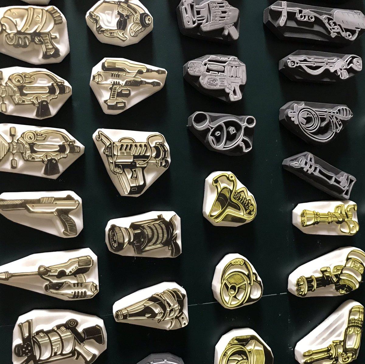 たぶん世界一スプラトゥーンの武器彫ってるから見てほしい #私を布教して
