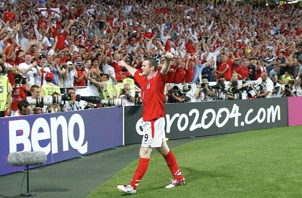 This will always be one of my favourite ever memories. Dream come true. Special, special feeling 🙂🏴 #euro2004 #croatia