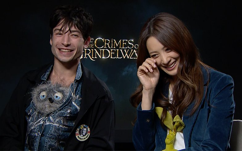 Ezra Miller would love to see a non-binary magical human in Fantastic Beasts.  https://t.co/GEEIp0szwX