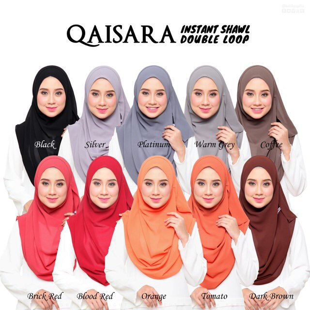I'm selling QAISARA SERIES Instant Shawl Double Loop for RM29.00. Get it on Shopee now! https://t.co/HjB9OiYjBS #ShopeeMY https://t.co/WhAaTA3zQp
