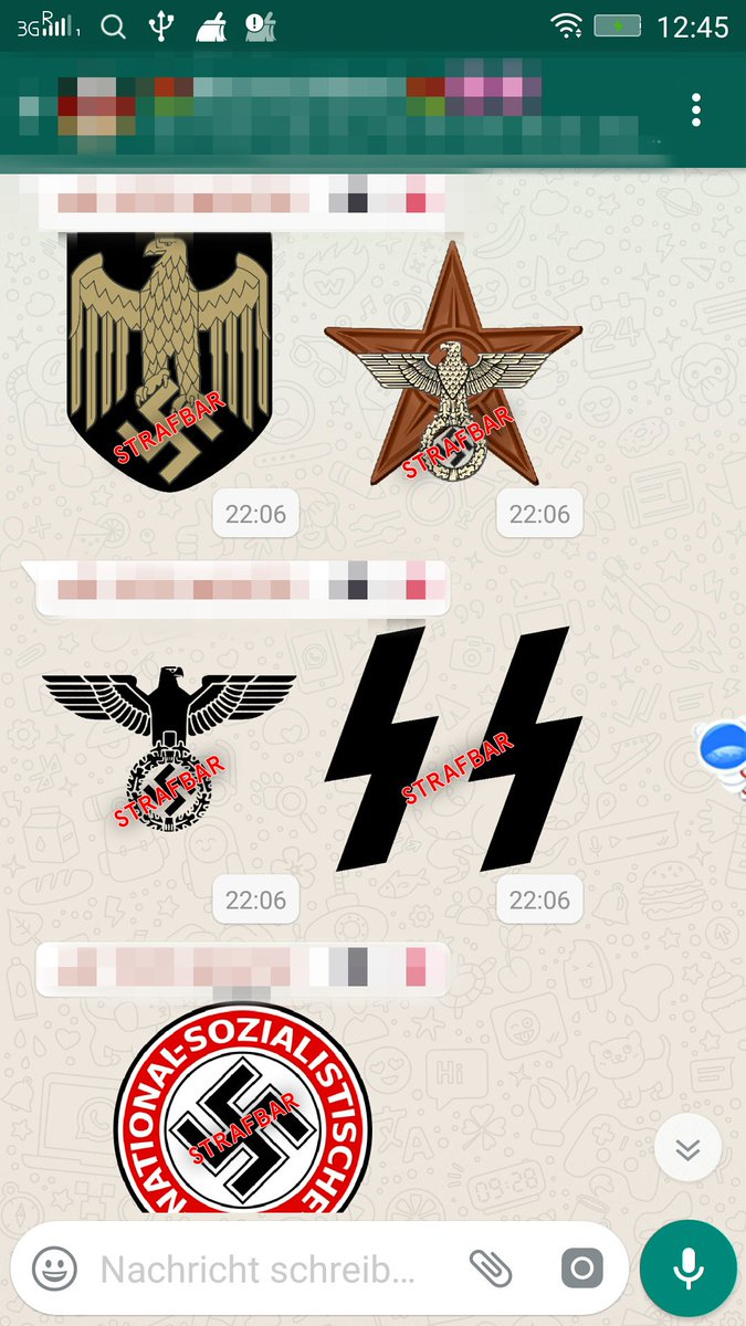 Whatsapp Nazi Sticker