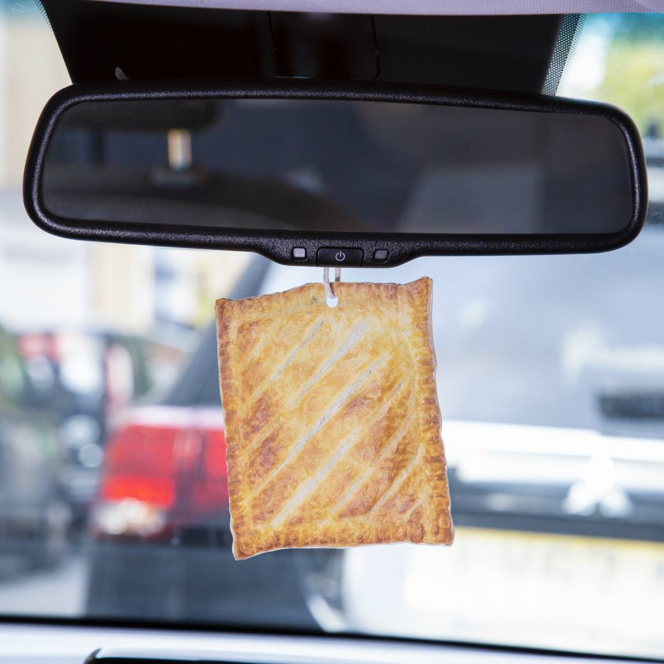 Anybody else feel like they need a @GreggsOfficial air freshener in their car?! #hungry #lunchtime #greggs #ifonly https://t.co/VLvI8Bv8Ci