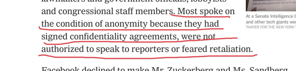 Companies beware: confidentiality agreements / NDA's are worthless (see below from NYT about @facebook ) and note, I think NDA's for the most part should be dead...many (most?) used just to hide bad conduct from shareholders and public