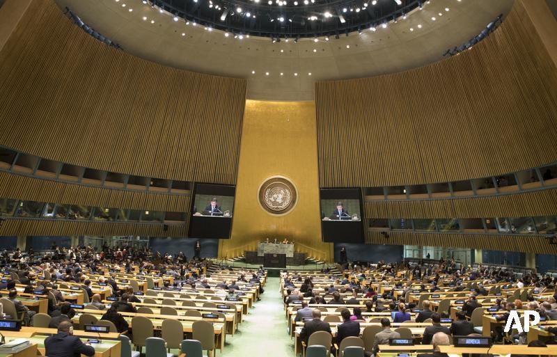 ГА ООН в декабре рассмотрит две резолюции по дипсобственности России в США: https://t.co/Yb8NvgQ199