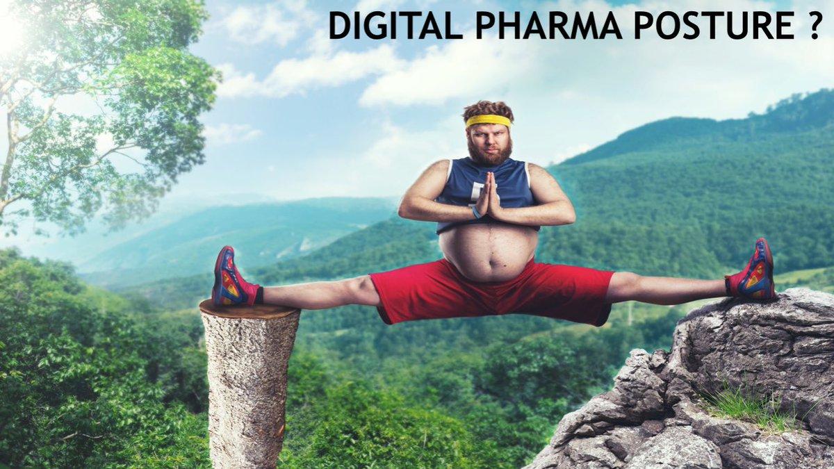 La #pharma entre peur du #darwinisme #digital et pratique du #digital #washing ? Cc @d2a_zone #hcsmeufr #esante