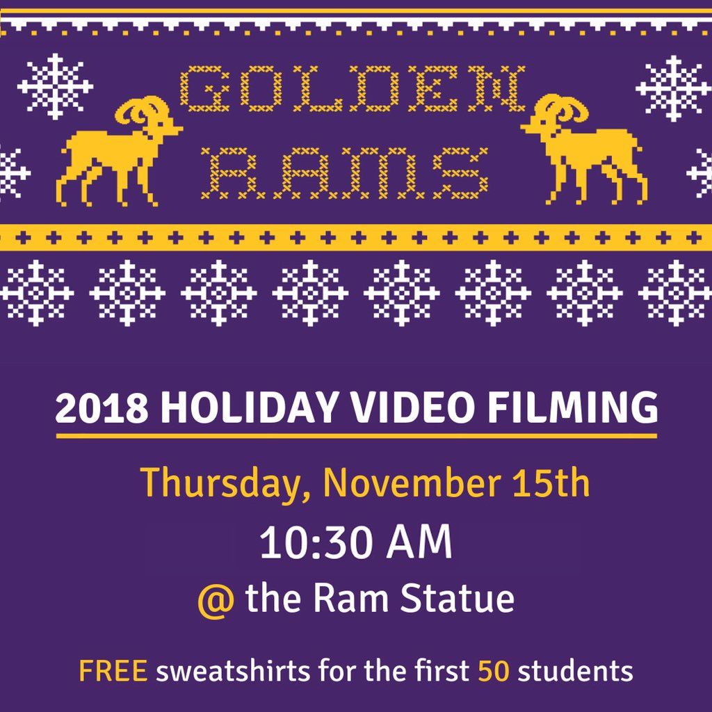 Snow flurries make for the best holiday video! See you at 10:30!