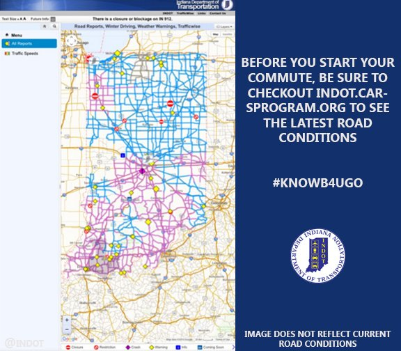 INDOT West Central on Twitter: