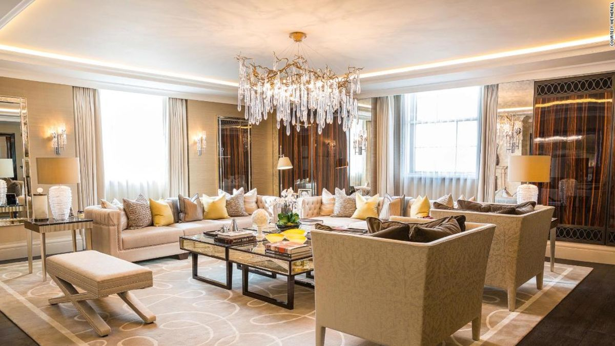 A hotel suite in London is on sale for $14 million cnn.it/2QHl9OA