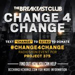 #change4change Twitter Photo