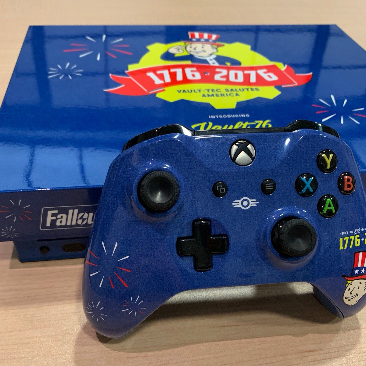 RT to enter to win a #Fallout76 Tricentennial Xbox One X!  Let's keep this #ReclamationDay Celebration going!  Official Rules: https://t.co/ybETPKGsRr https://t.co/Ir8ea8499Z