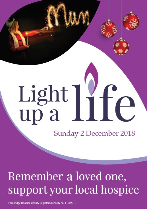 Join us at the third annual Light up a Life remembrance event on Sunday 2 December to honour and celebrate the lives of the people who are no longer with us. Read more and find out about sponsoring a beautiful custom-engraved dove at https://t.co/U49GiyxrMX