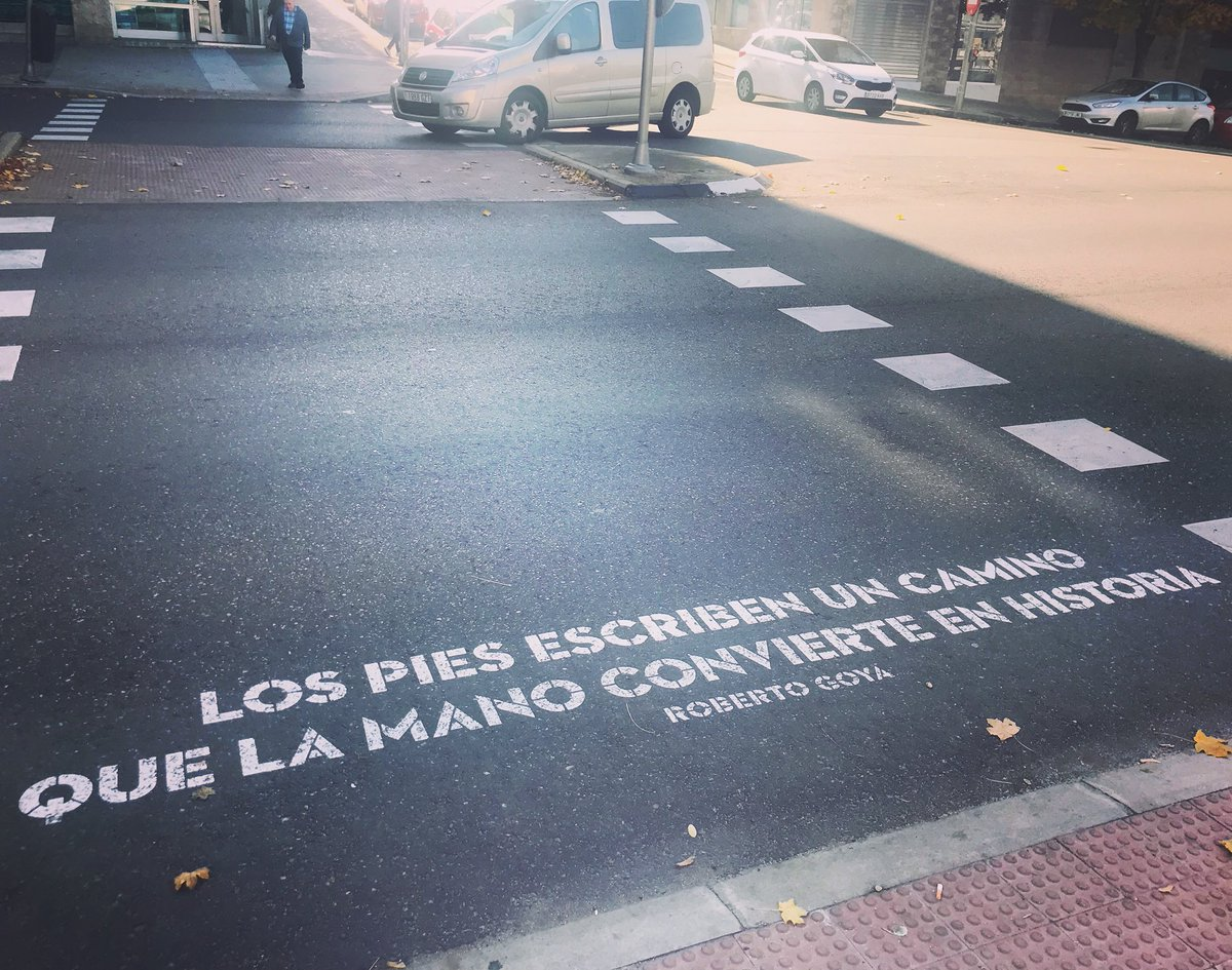 Caminar la ciudad #versosalpaso en Madrid