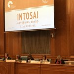 Image for the Tweet beginning: INTOSAI Governing Board meeting in