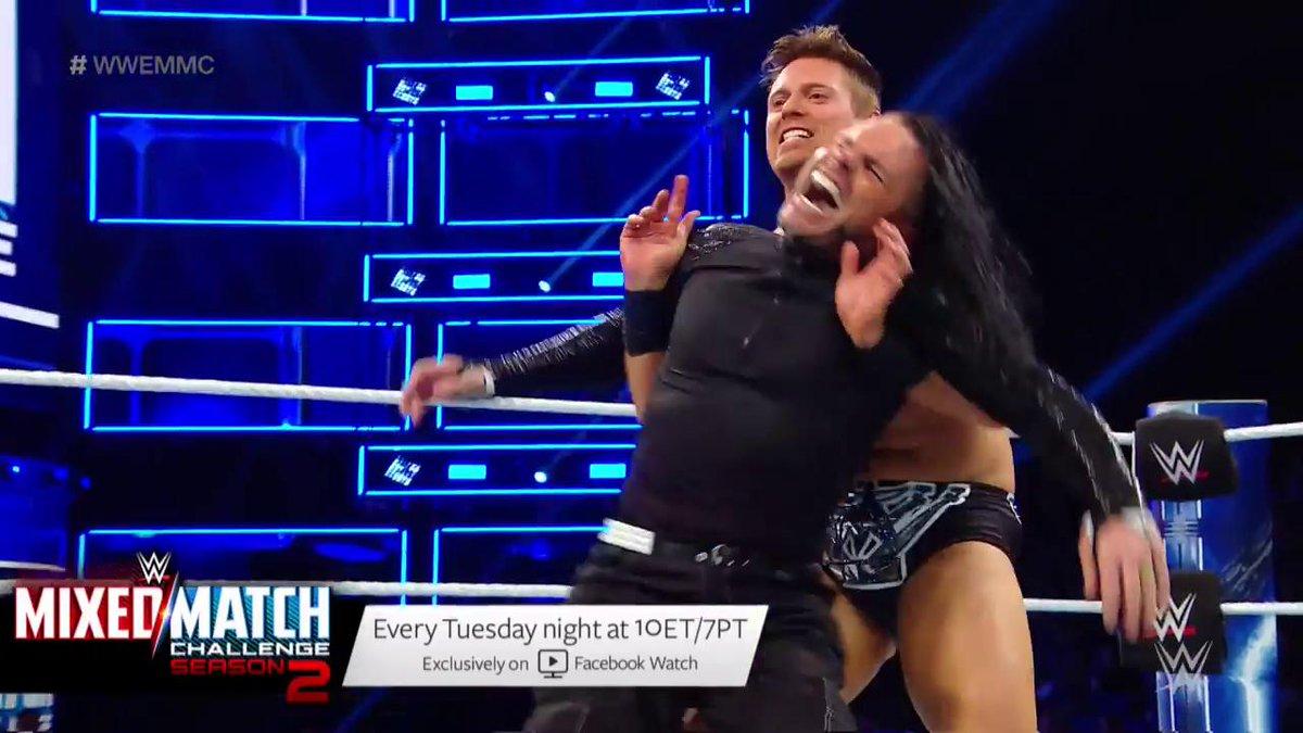 #ITKicks were in full throttle on #WWEMMC courtesy of @mikethemiz and @WWEAsuka!