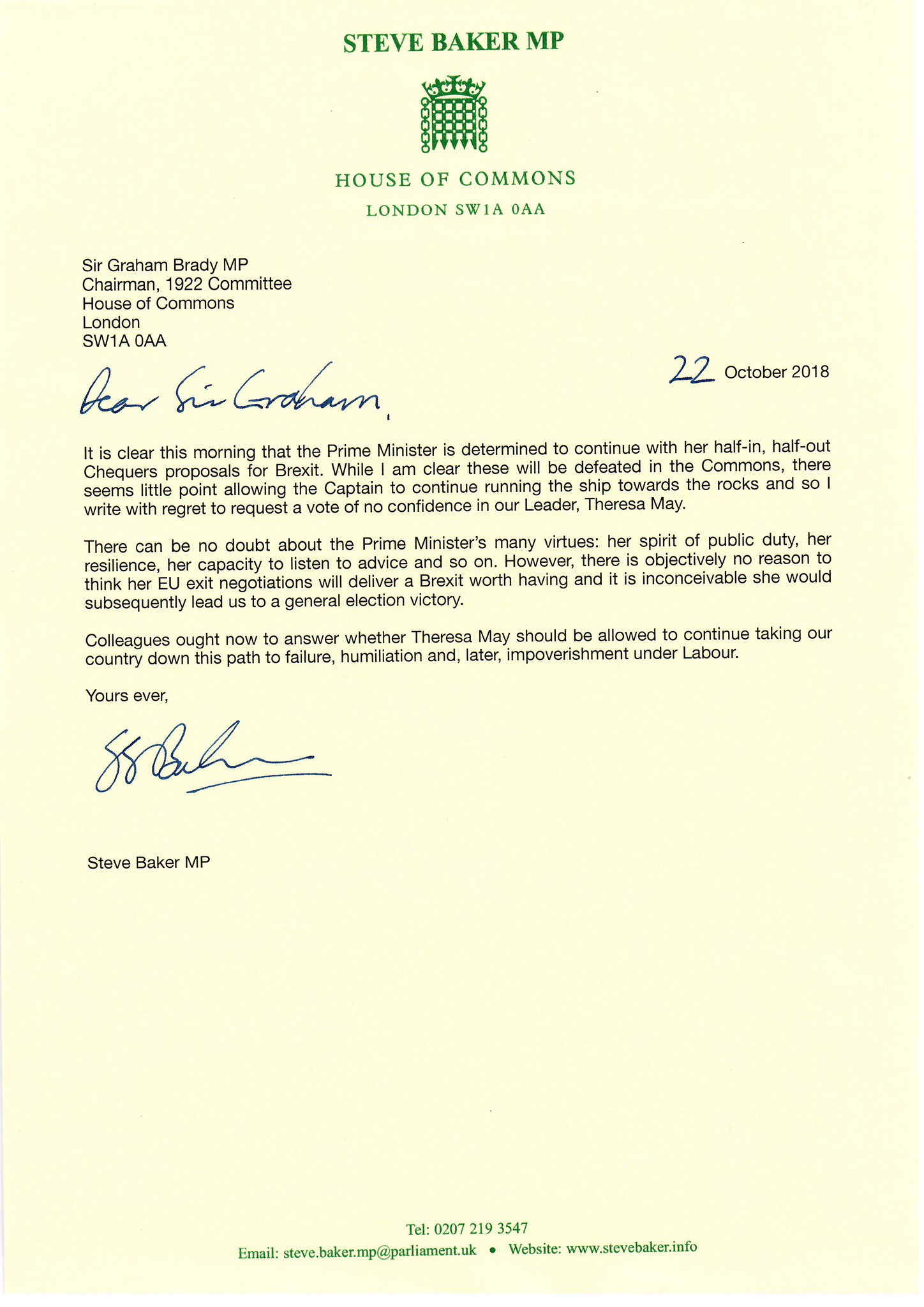 Resignation Letter To Committee Chairman From Vice Chairman Uk