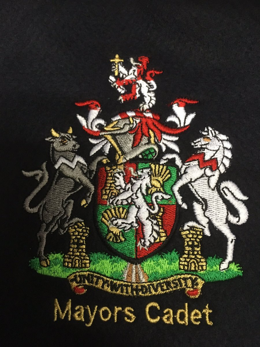 Green Frog Promotions On Twitter Love This Melton Mayors Cadet Crest For A Brard