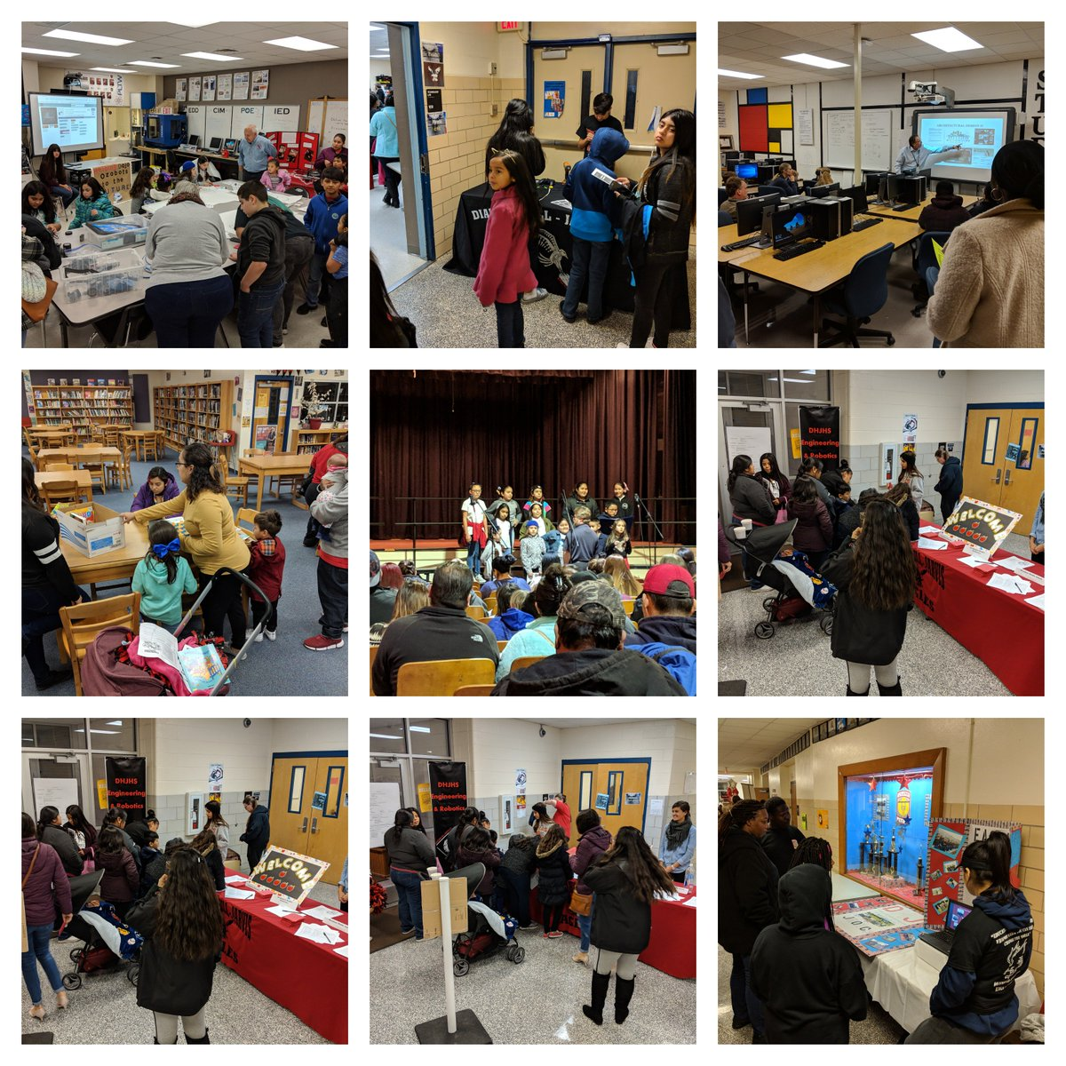 Thank you to everyone that attended our DHJ Pyramid Fair last night! #AllThingsDHJ #WeAreDiamondHill #EagleNation