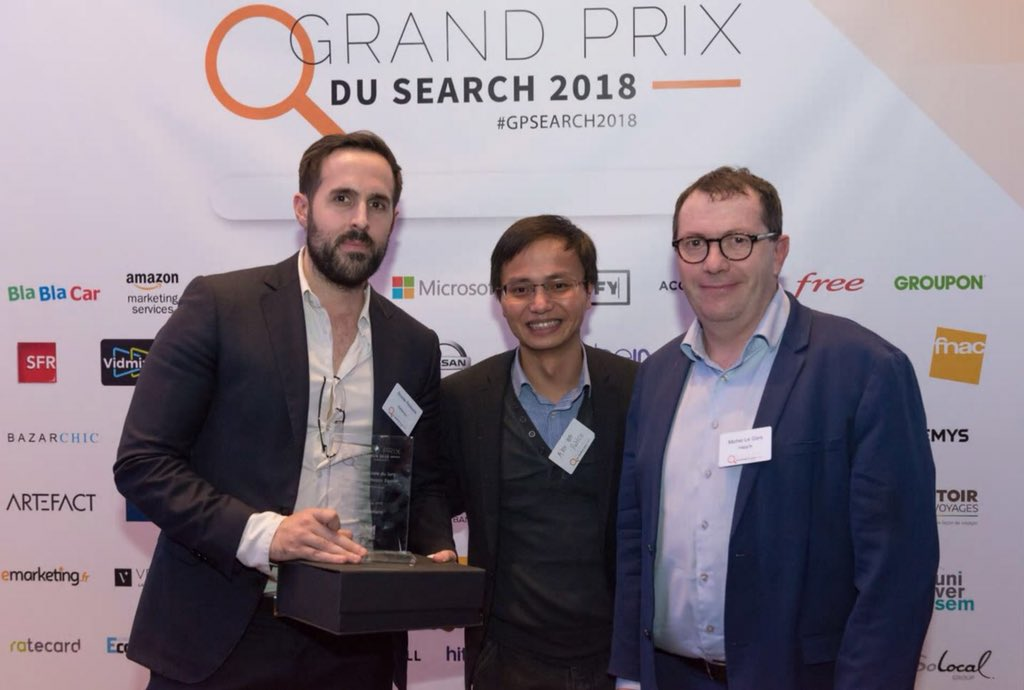 test Twitter Media - Grand Prix du Search : nous sommes très fiers d'avoir obtenu la mention spéciale du Jury pour le focus Mobile Search ! https://t.co/EL1FAuKr2U