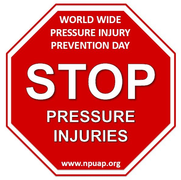 Today is Worldwide Pressure Injury Prevention Day! Follow us for tools and resources that can help patients, their caregivers and their healthcare team prevent ulceration @TheNPUAP #PressureInjuryPreventionDay #STOPPressureInjuries #PressureInjuryAwareness