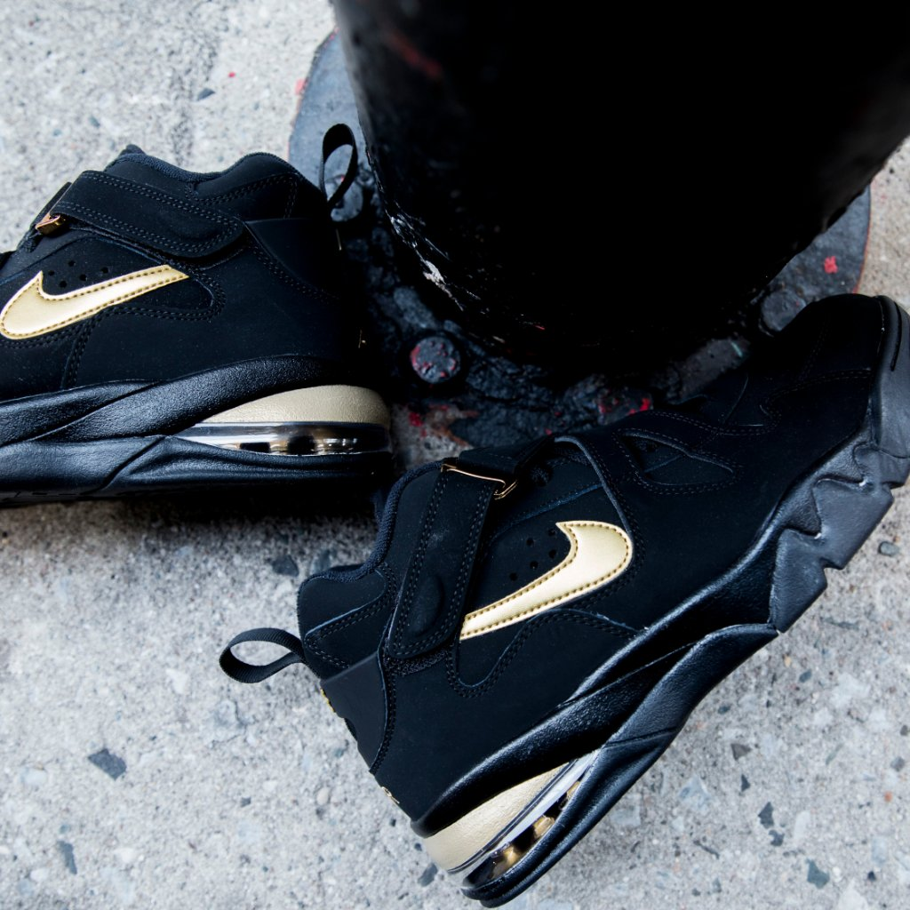 hot sale online 0ad91 0ce9b chuck nike air force max cb black gold available now in store and online