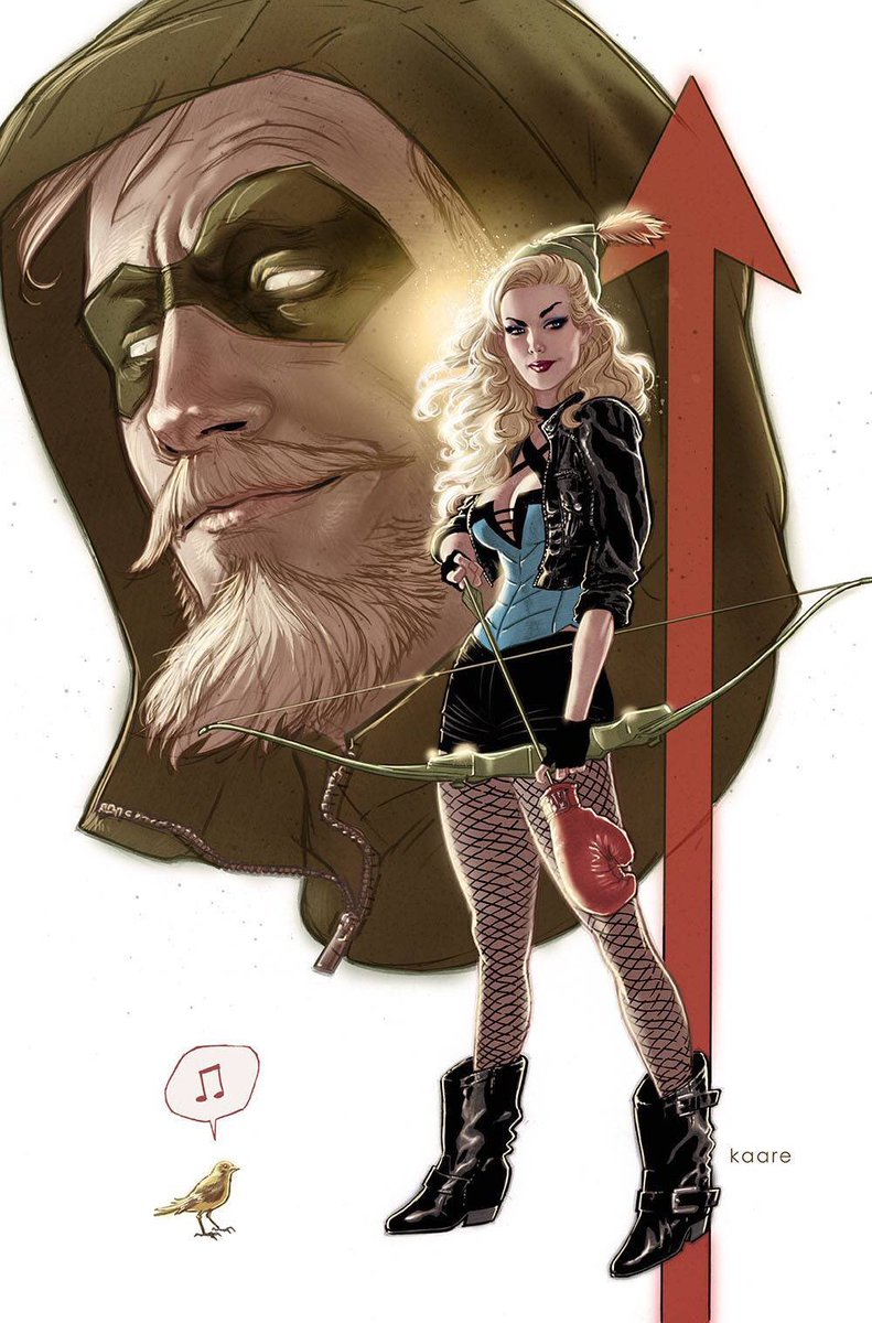 Green Arrow #46 Variant Kaare Andrews Cover