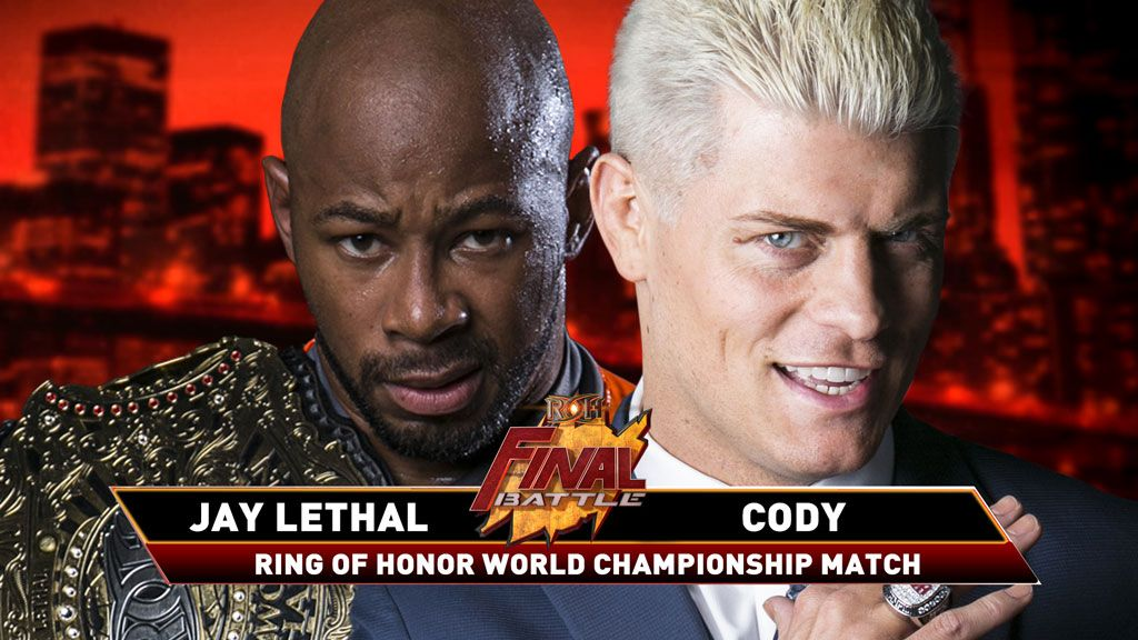 Cody Rhodes Says Final Battle Will Be His Last ROH Match, Threatens To Take ROH Title With Him