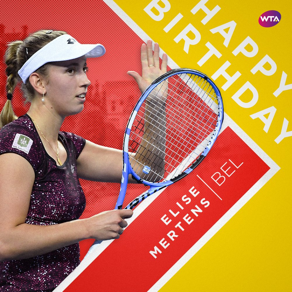 Happy birthday, @elise_mertens! 🎉🎂