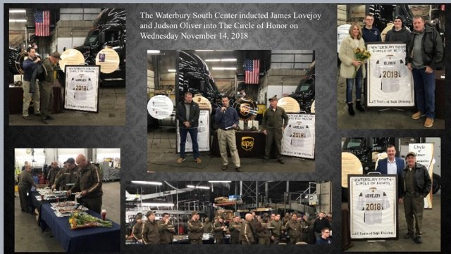 Judson Oliver and James Lovejoy were inducted into the Waterbury South Center&#39;s Circle of Honor! #ctwest #wearectwest #ctwestupsers<br>http://pic.twitter.com/BvuVnpTR5K