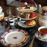 Image for the Tweet beginning: Wonderful Afternoon Tea at the