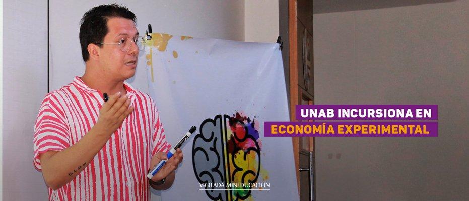 UNAB incursiona en economía experimental