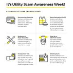 Image for the Tweet beginning: #DYK it's Utility Scams Awareness