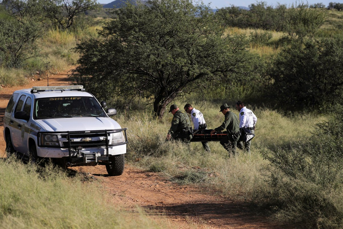 8/12 Border agents finally found the men. They took Gomez into custody. They took Paiz's body away in a black body bag.