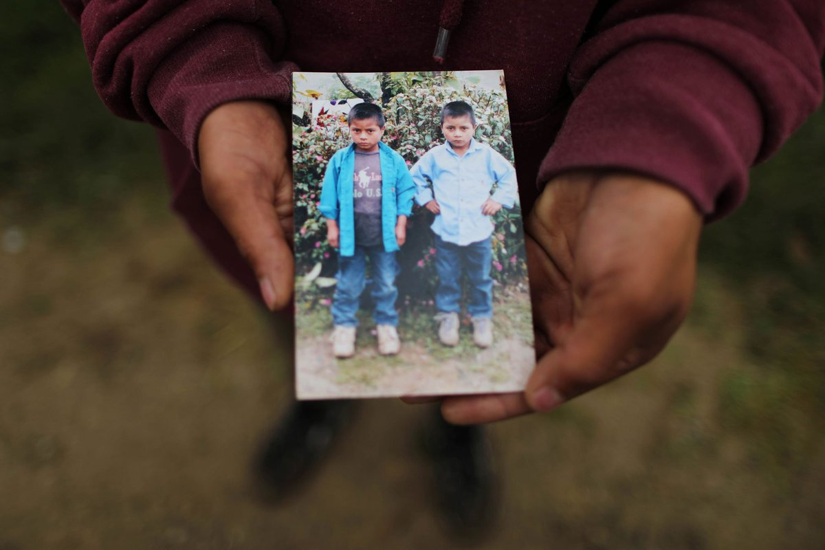 11/12 'We always played together. We would go to the mountains together to collect wood,' said Gaspar, his twin. 'We discussed which one of us would go to the U.S. and decided it would be Misael.'