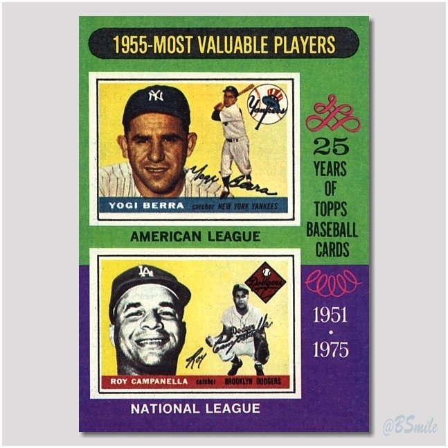 Baseball By Bsmile On Twitter 1975 Topps Most Valuable
