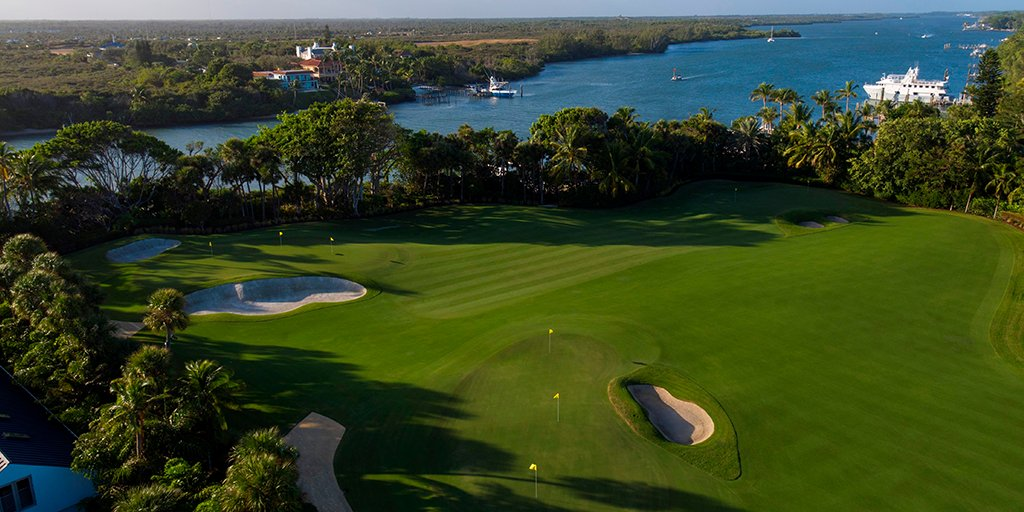 The Jupiter Island Practice Facility, designed and created in @tigerwoods backyard, replicates tournament-like conditions and offers short and mid-range shot options up to 150 yards.