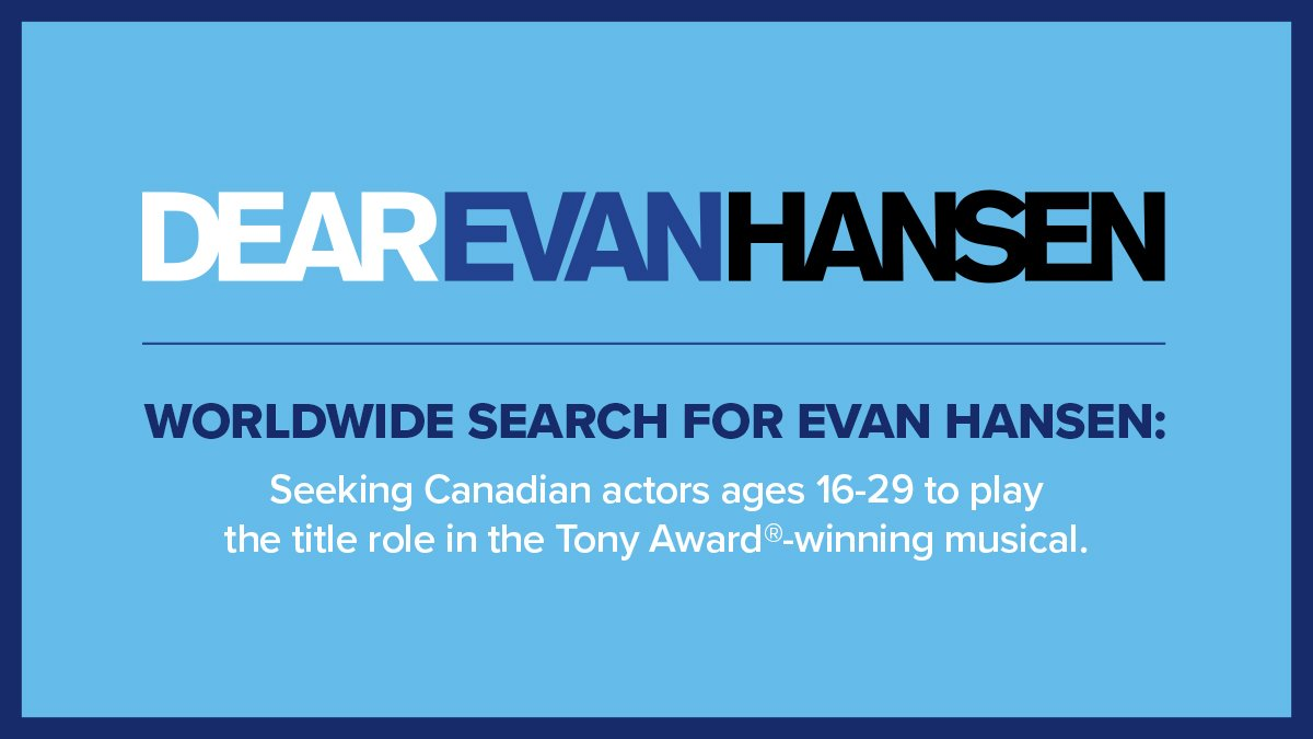 Alexandra Theatre Now Accepting Auditions From Canadian Actors Ages 16 29 Around The World Bitly DEHTorontoCall Pictwitter OaFAUnki9z