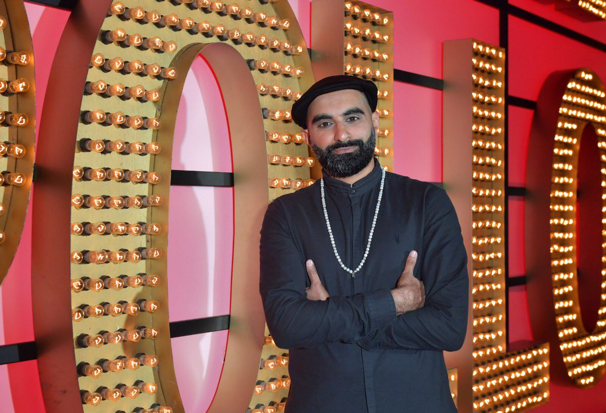 The very beautiful and incredibly sexy @tezilyas is on #LiveAtTheApollo tonight at 10pm. Can't wait ❤️