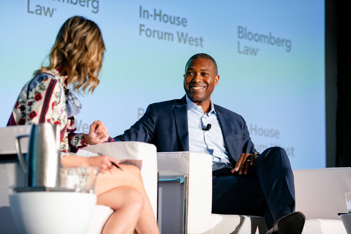 Coming up! Our exclusive with @Uber's Chief Legal Officer @tonywest — @BloombergTV 2pPT