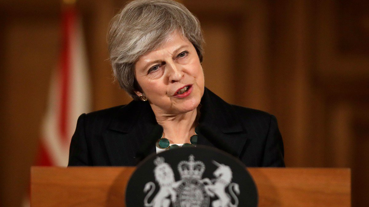 Am I going to see this through? Yes - Theresa May comes out fighting on Brexit deal bit.ly/2DnG5q2
